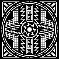 Iron Shadows Mimbres Indian Style Cnc For Plasma Laser